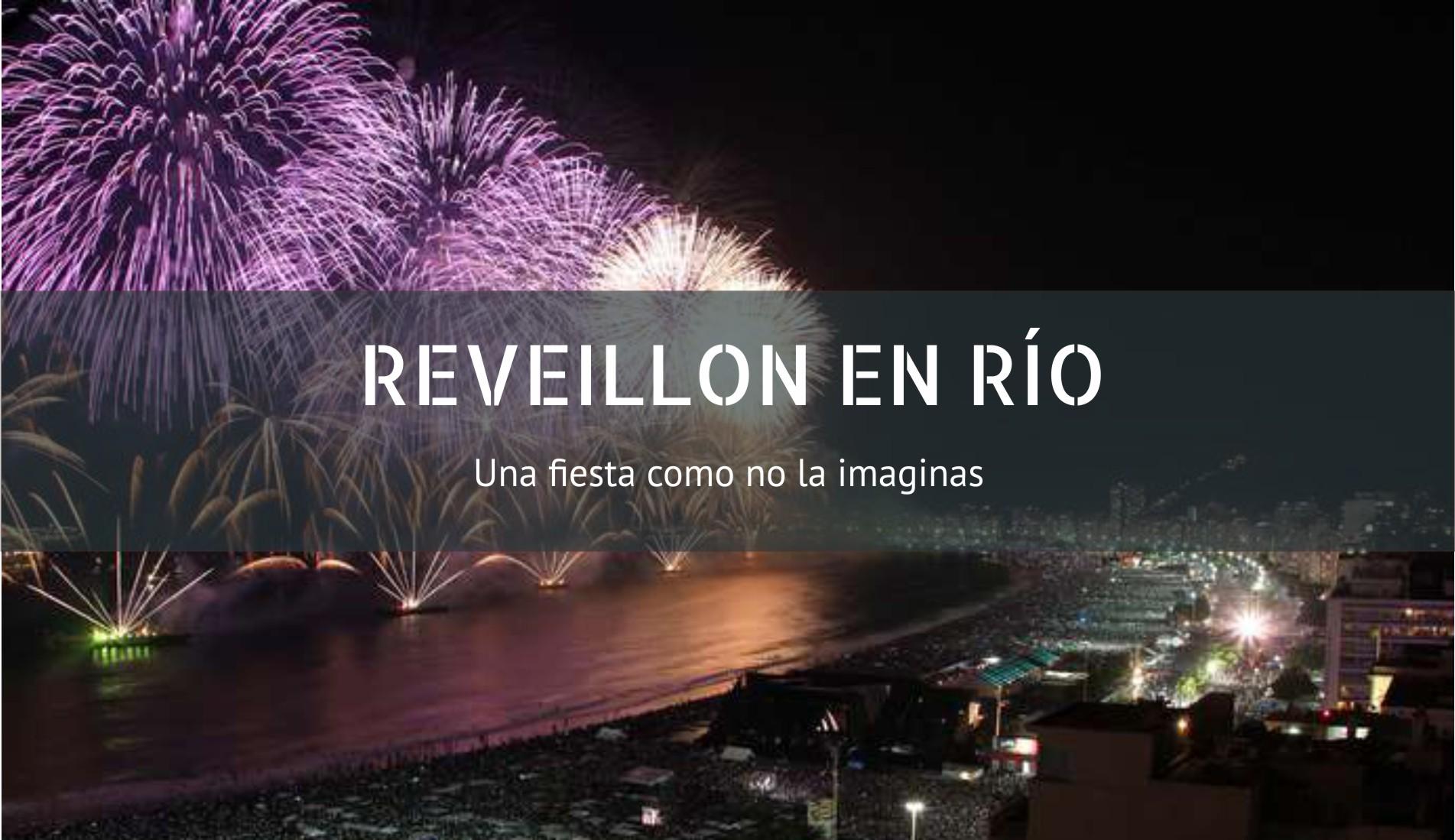Reveillon En Río De Janeiro Vientos De Viaje